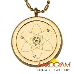 M S T GOLD PENDENT